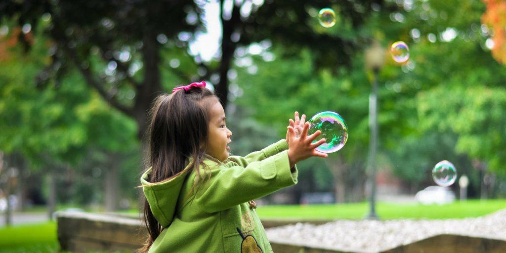 Child & Bubbles