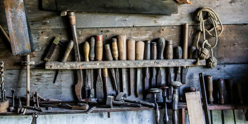Display of Various Tools