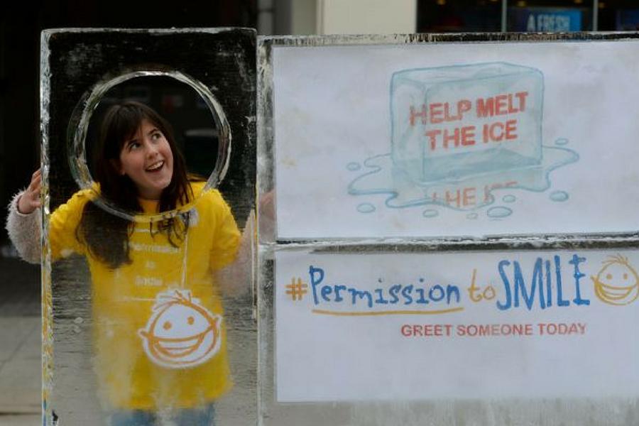 permission to smile campaign