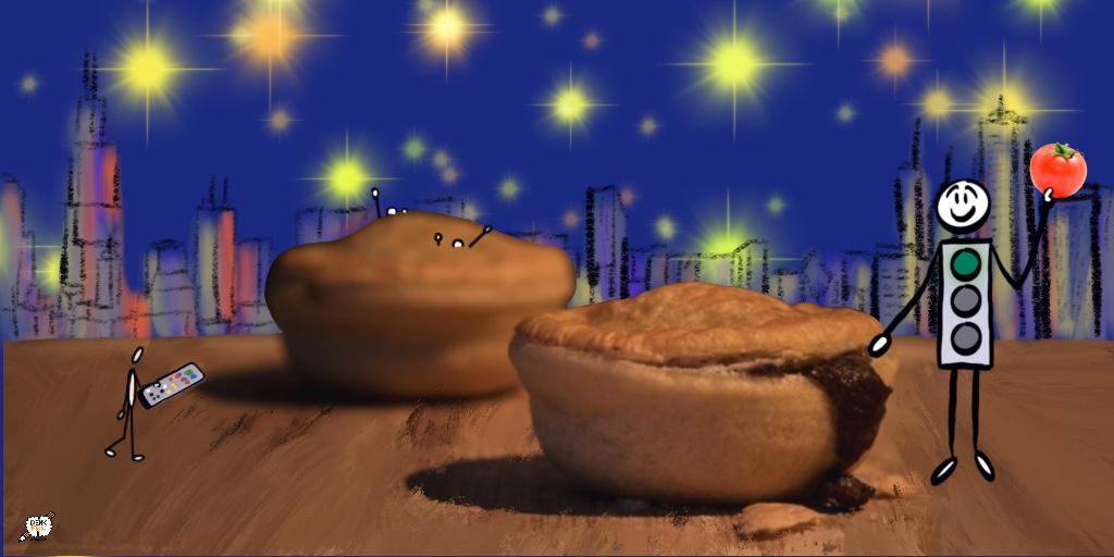 Meat Pie and Lumina